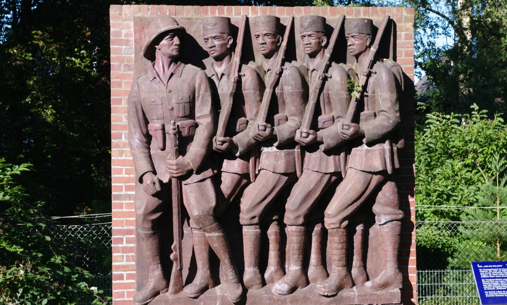 rechte Seite des 'Askari Reliefs' in Hamburg