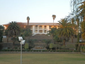 Tintenpalast, seat of the Namibian National Assembly (the Parliament)