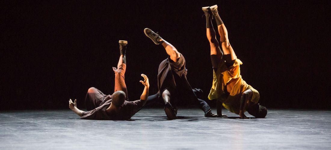 Das Foto zeigt einen Ausschnitt aus der Tanzaufführung Inoah.