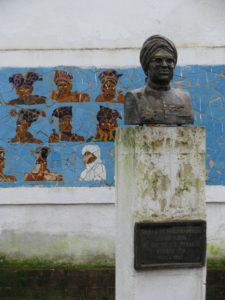 Büste des Sultans El Hadj Njimoluh Seidou Ibrahim Mbouombouo Njoya