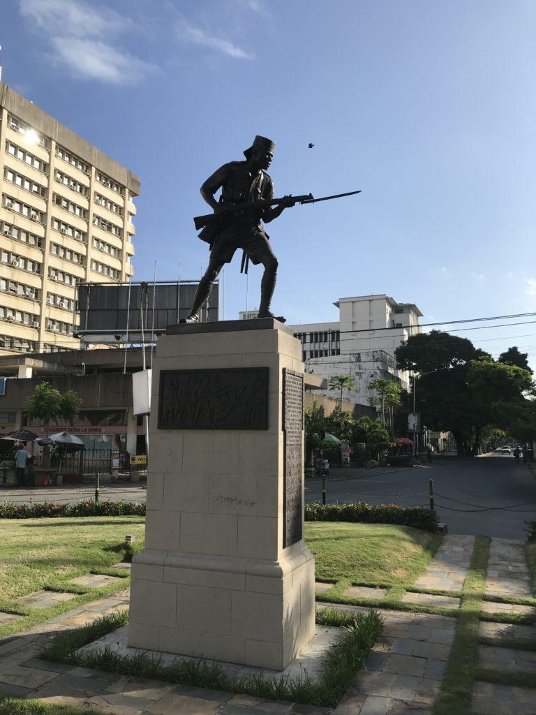 Askari Monument in Dar es Salaam