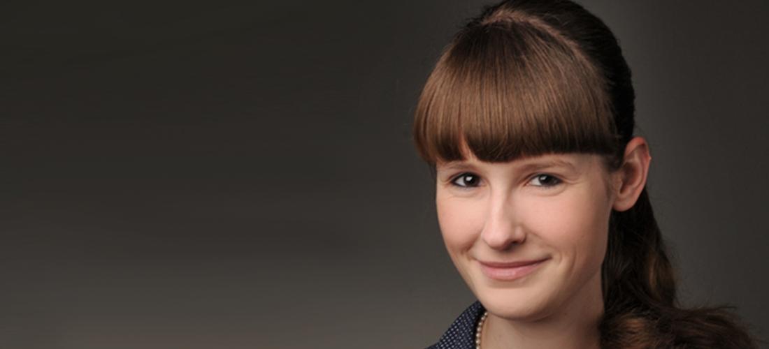 Das Foto zeigt ein Porträt von Melanie Boieck.
