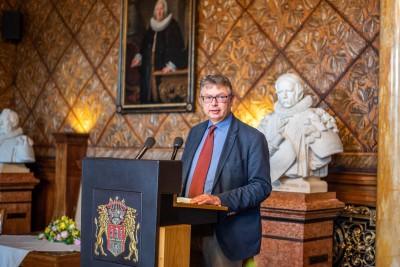 Prof. Dr. Jürgen Zimmerer, © Pressestelle des Senats